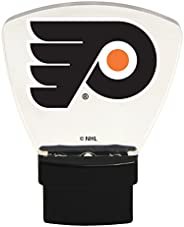 Authentic Street Signs 85320 NHL Philadelphia Flyers LED Nightlight, Clear, One Size