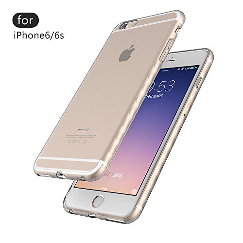 iPhone 6 | 6S Case, Case Army FROST HOLD Scratch-Resistant Slim Cover Frosted Soft TPU for Apple iPhone 6/6S [4.7] Frosted Hard Shell Back Soft Side, Bumper Silicone Rubber Limited