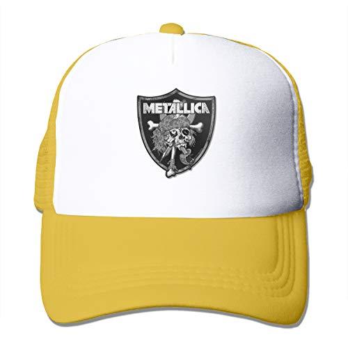 Jason Le Oakland Raiders Skull Heavy Meta Trucker Hats