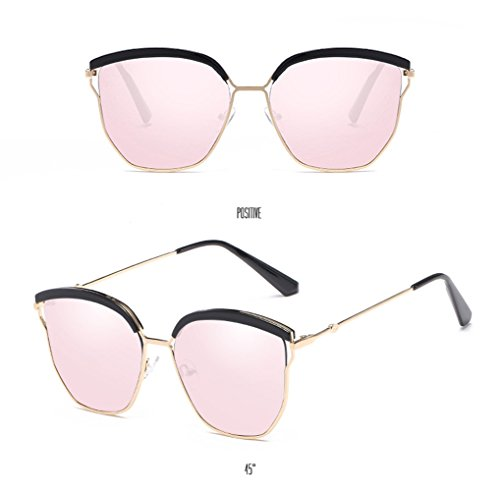 Glasses Mercury Women Sunglasses pink Protection Driving Coolest Street UV Mirror Tide Lens Sunglasses Eyewear Special Sun Fashion Frame Black Men Polarized Unisex qq4gRt