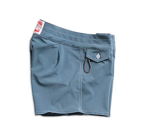 Birdwell Women's Stretch Board Shorts - Long Length (Light Blue, 10) by Birdwell Beach Britches (Image #7)