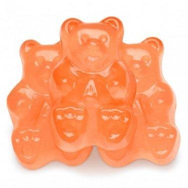 FirstChoiceCandy Albanese Gummy Bears (Peach, 5 LB) (Peaches Candy Pound 5 Gummi)