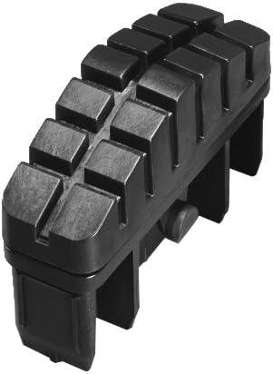 Hailo 9910-001 - Pack de 2 tacos antideslizantes con superficie total de apoyo para largueros de escalera de 72 x 25 mm: Amazon.es: Bricolaje y herramientas