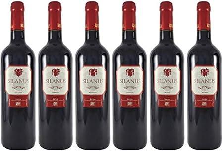 Silanus Vino D.O Rioja Crianza - 6 Botellas - 4500 ml