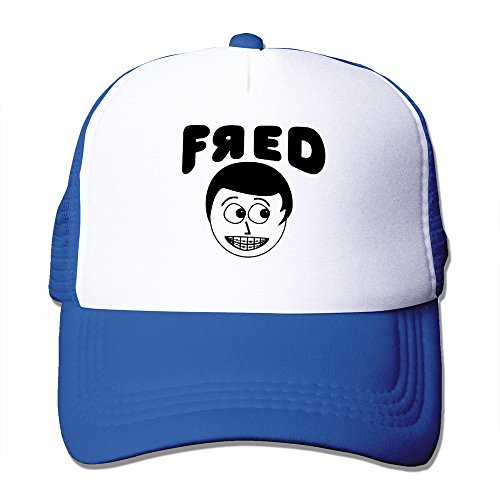 Beetful YouTube Fred Mesh Back Cap RoyalBlue