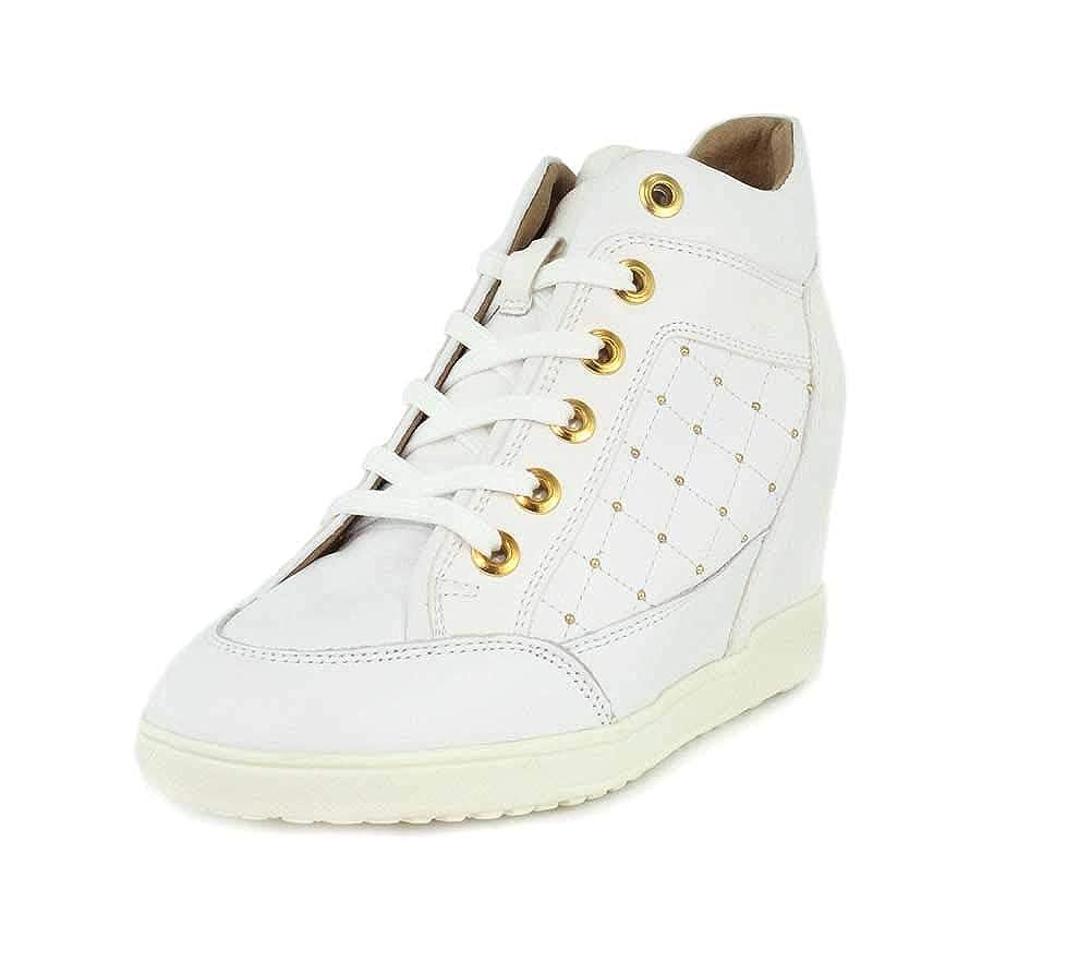 Blanc (blanc (blanc C1000) Geox D Carum C, paniers Basses Femme  marchandise de haute qualité et service pratique et honnête