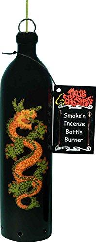 Dragon Fire Wonderland Fantasy Home Decor Smoking Bottle Incense Burner-Ashcatcher By Nose Desserts Brand