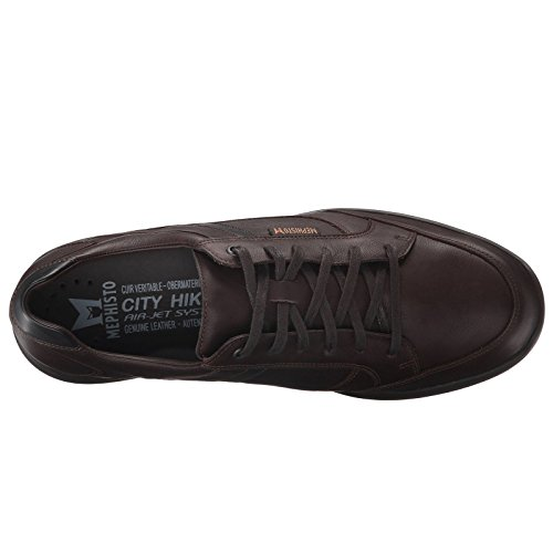 Mephisto Mens Frank Leather Shoes Dark Brown