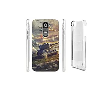 FUNDA CARCASA TANKS FIGHT PARA LG G2 MINI D620