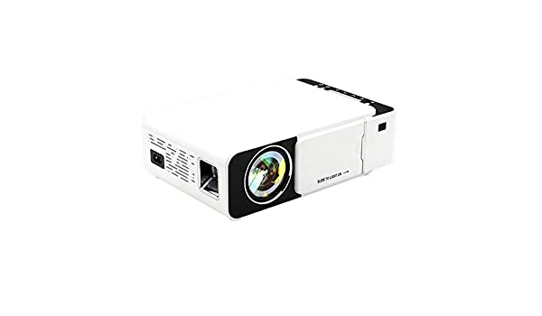 Ouqian-OP Proyector Mini proyector LED 100 lúmenes ANSI 800x480 ...