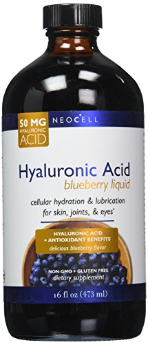 NeoCell Laboratories Pure Hyaluronic Acid, Blueberry, 16 ()