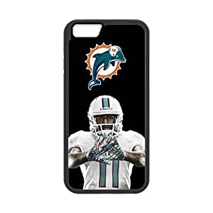 Onshop Miami Dolphins Custom Case for iphone 4 4s (Laser Technology)