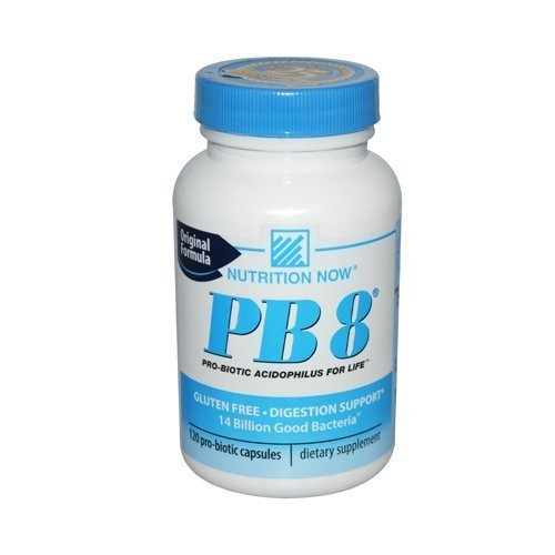 Nutrition Now PB 8 Pro-Biotic Acidophilus For Life -- 480 Capsules (4 pack of 120 ea) (a3ds6)