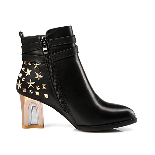 negro Boots SevenAnkle Botas Nine mujer wTU5qAI
