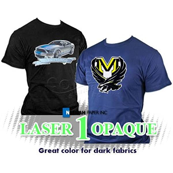 Laser 1 Opaque Heat Transfer Paper 11 X 17 100 Sheets