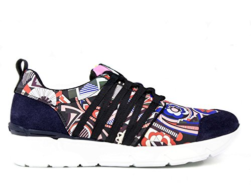 MSGM Sneakers 1941MDS12074 Women's Leather Multicolor 4xwqrp4C