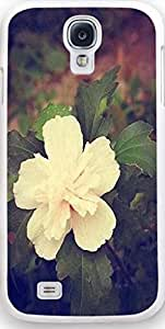 Galaxy S4 Case, Dseason Samsung galaxy S4 Hard Case NEW High Quality Unique Design Christian Quotes white flower 1 by supermalls