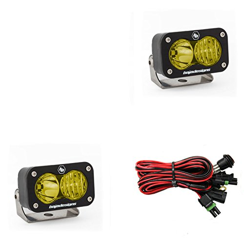 Baja Designs 54-47813 Amber S2 Sport Pair Driving/Combo LED,1 Pack