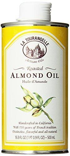 La Tourangelle Roasted Almond Oil - Delicate and fresh - All natural, Expeller-pressed, Non-GMO, Kosher - 16.9 Fl. Oz. by La Tourangelle