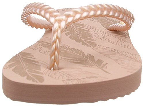Feather Rose flop Sandales Ouvert Pink Flip Slim Femme ballet 220 Bout w07Eqaxxf