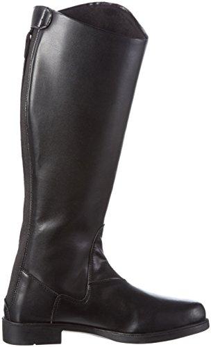lontano New Stivali Da Donna General Equitazione Hkm Nero Corta xHpqwfxS0