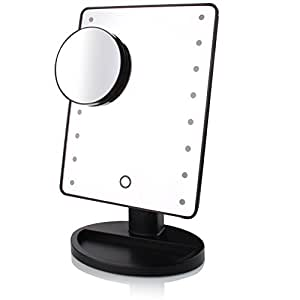 Amazon Com Makeup Mirror With 16 Lights Removable 10x