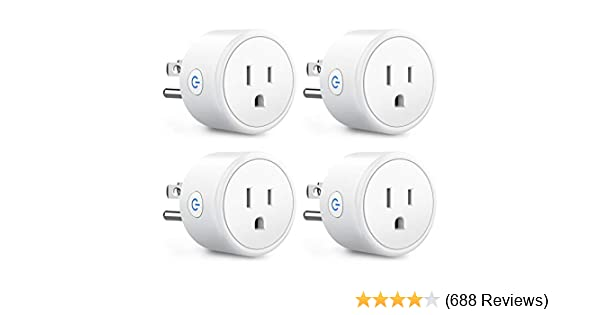 Smart Plugs That Work With Alexa Echo Google Home For