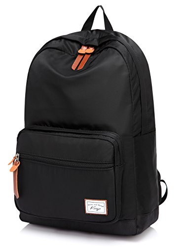 kasqo-waterproof-eco-nylon-college-school-backpack-with-padded-156-inch-laptop-compartment-casual-da