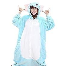 IFLIFE Pajamas Animal Cosplay Costume Onesie Adult Hooded Sleepwear