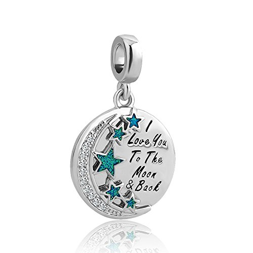 CharmsStory-I-Love-You-To-The-Moon-And-Back-Charm-Clear-Wihte-Crystal-New-Jewelry-Sale-Cheap-Beads-Fit-Pandora-Bracelet