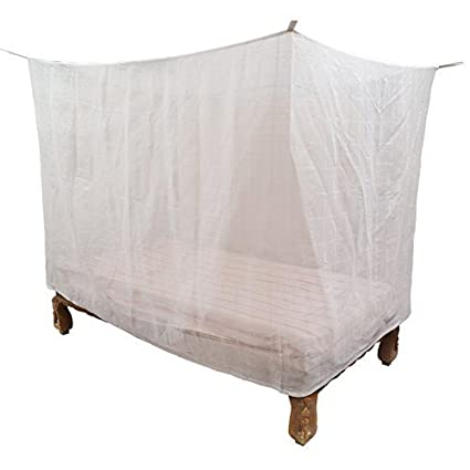 huge selection of 23e4d 54870 4x6 FT WHITE MOSQUITO NET For single Bed Poly Cotton - Mosquito Net For  Baby | Bedroom | Family