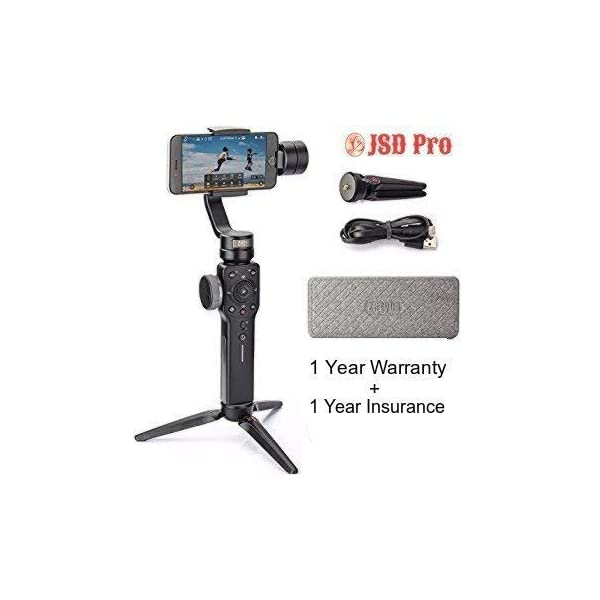 JSD PRO Smooth 4 (Black) - 3 Axis Gimbal 1