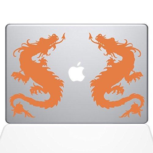 最新な The Decal Decal Guru 1055-MAC-11A-P Double Dragon Double Decal Vinyl Sticker B078FBKYZP for 11 MacBook Air Orange [並行輸入品] B078FBKYZP, シンジュクク:d217b170 --- a0267596.xsph.ru