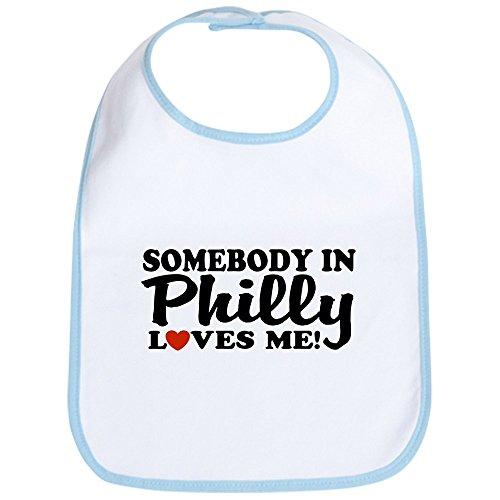 - CafePress - Somebody In Philly Loves Me Bib - Cute Cloth Baby Bib, Toddler Bib