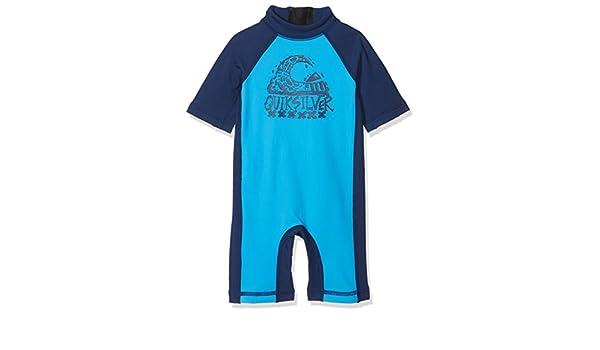 Quiksilver Thermo Spring Licra-Bañador Entero de Manga Corta con Protección Solar UPF 50, Niños: Quiksilver: Amazon.es: Deportes y aire libre