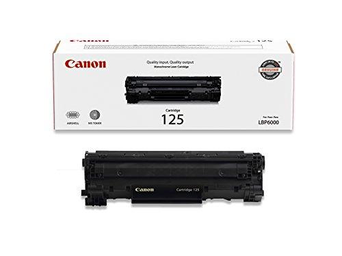 Canon Original 125 Toner Cartridge - Black