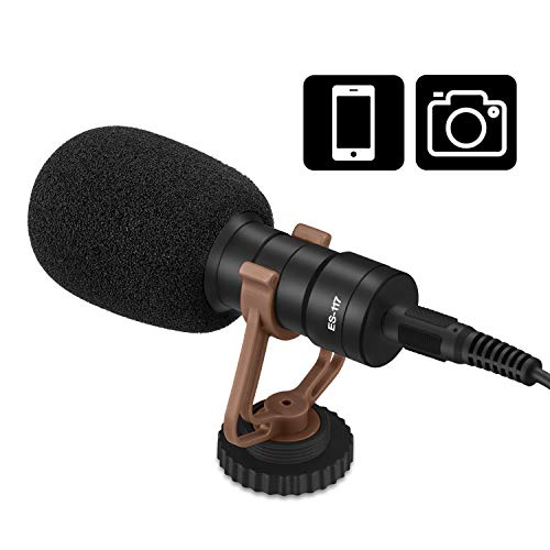 Professional Grade Video Camera Microphone with Shock Mount