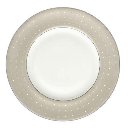 Monique Lhuillier Etoile Platinum Lunch Plate(s) Accent (Etoile Platinum Dinnerware)