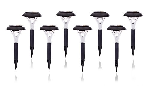 qualitus solar powered led garden stake lights perfect for