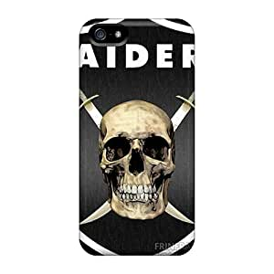 High Quality Shock Absorbing Cases For Iphone 5/5s-oakland Raiders
