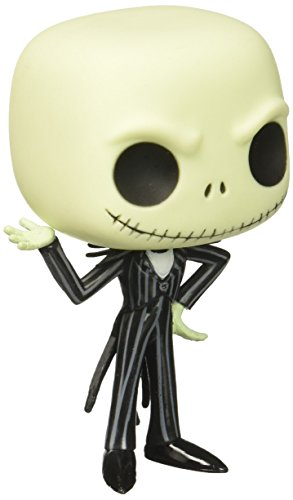 Funko POP Disney: Jack Skellington Vinyl Figure]()