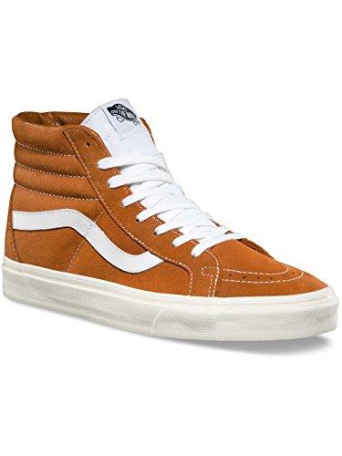 Glazed Ginger - Vans SK8 Hi Reissue Retro Sport Glazed Ginger Men's Classic Skate Shoes Size 9