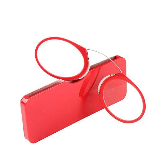 nez 1 style Nez 2 lecture 0 Unisexe de 0 2 5 repose Yefree 3 5 Rouge lunettes 5 0 3 1 Pince pincée qwtXEzPvc