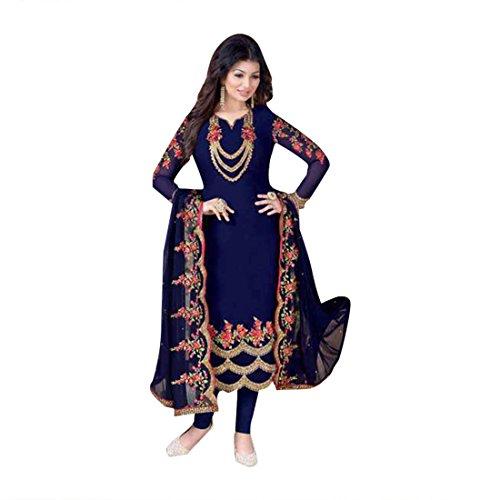 Maßanfertigung Custom to Measure Europe size 32 to 44 Ceremony Party Wear Straight Salwar Suit Women Designer Kleid Zeremonie Kleid Material Partei tragen indische Hochzeit Braut 923 vYY1sBKF