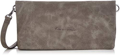 Fritzi aus Preussen Ronja FaP FS-16-43 Damen Clutches 29x15x3 cm (B x H x T), Grau (Stone-NY 3)