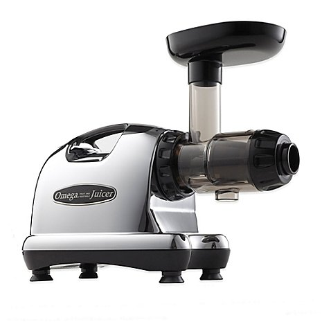 The Omega J8006 Nutrition Center is a masticating style juicer. Occasionally referred to as a low speed juicer, the Nutrition Center processes at 80rpm, whereas most other juicers process at a speed of 1,650 to 15,000rpm.