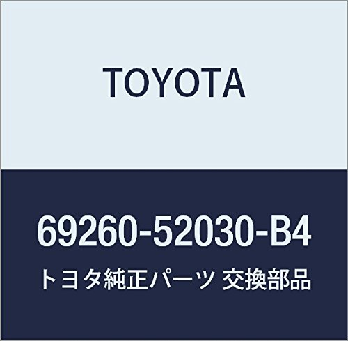 Genuine Toyota 69260-52030-B4 Window Regulator Handle Assembly