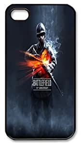 Battlefield iPhone 4/4s Case, DIY Hard Shell Game Theme Case Cover for iphone 4 4s