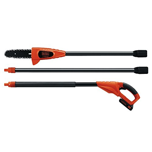 BLACK+DECKER LPP120 20-Volt Lithium-Ion Cordless Pole Saw