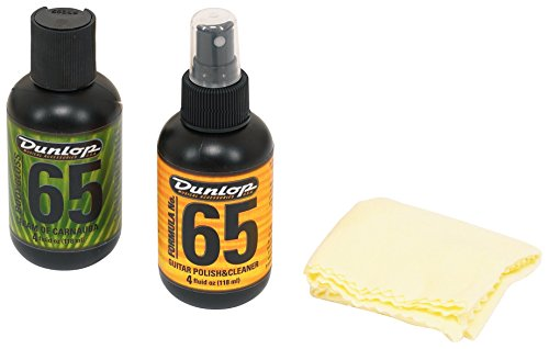 Dunlop 6501 Formula 65 Guitar Polish Kit (Guitar Polish 65)